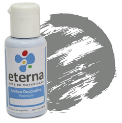 ACRILICO ETERNA DEC PLATA 50ML
