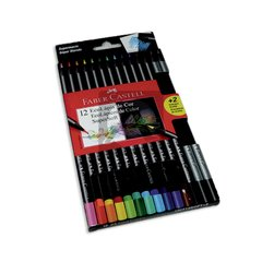 LAPIZ COLOR FABER SUPERSOFT X12L