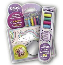 SET FASHION UNICORNIO DISEÑA CONMIGO BLISTER
