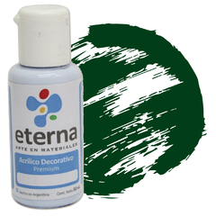 ACRILICO ETERNA DEC VERDE MUSGO 50ML