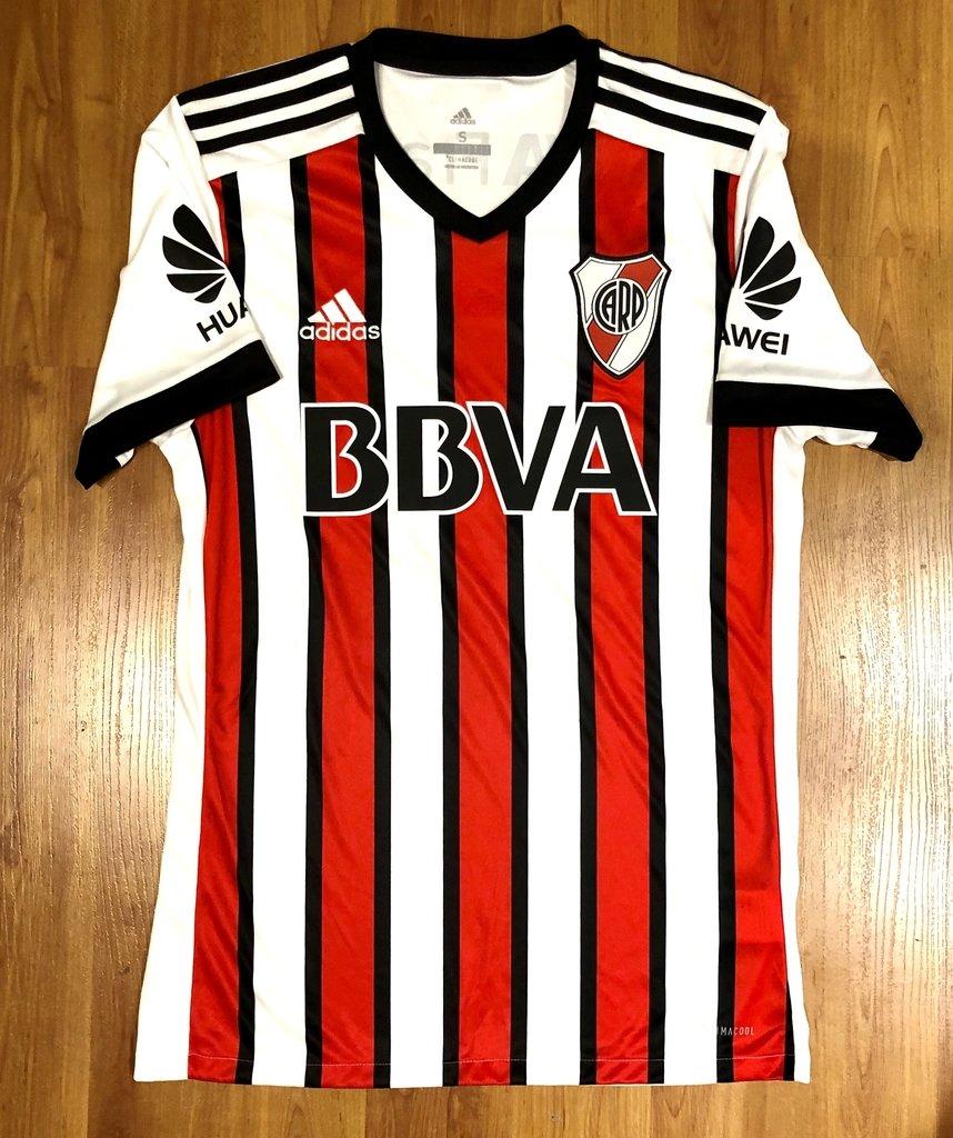 Camiseta Tricolor Adidas de River Plate 2017/8