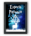 Quadro EXPECTO PATRONUM  Harry Potter