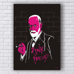 Placa PINK FREUD