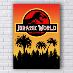 Placa JURASSIC WORLD