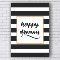 Placa happy dreams