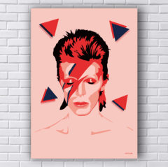 Placa DAVID BOWIE POP ART