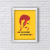 Quadro David Bowie We can be heroes