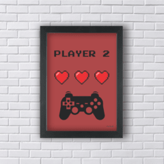 GAME PLAYER 2 (Ref:V116|AV016) - Art in Parede