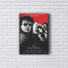 Placa Lost Boys Garotos Perdidos poster