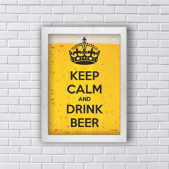Quadro KEEP CALM DRINK BEER