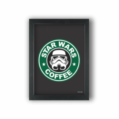 Quadro STAR WARS COFFEE STORMTROOPER