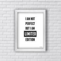 Quadro I AM NOT PERFECT