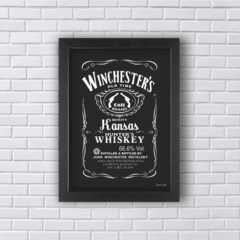 WINCHESTER BROTHERS WHISKEY (Ref:V202|AV058) - Art in Parede