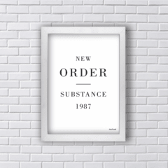 Quadro NEW ORDER SUBSTANCE