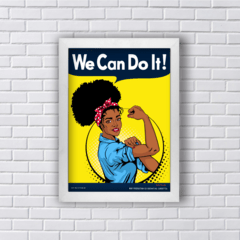 Quadro WE CAN DO IT - BLACK POWER