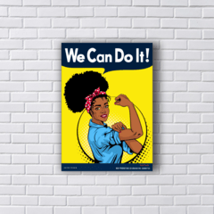 Placa WE CAN DO IT - BLACK POWER