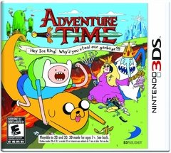 ADVENTURE TIME HEY ICE KING! WHY'D YOU STEAL OUR GARBAGE?!! 3DS