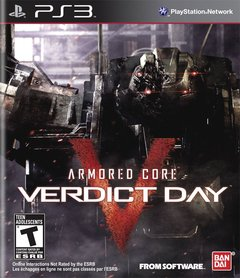 ARMORED CORE VERDICT DAY COLLECTOR'S EDITION PS3 - comprar online