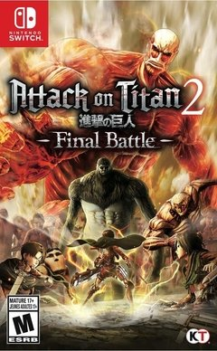 ATTACK ON TITAN 2 FINAL BATTLE NINTENDO SWITCH
