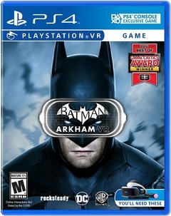 VR BATMAN ARKHAM PS4