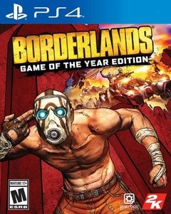 BORDERLANDS GAME OF THE YEAR EDITION GOTY PS4