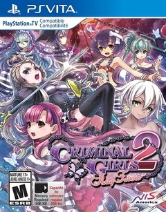 CRIMINAL GIRLS 2 PARTY FAVORS LIMITED EDITION PS VITA