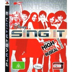 DISNEY SING IT HIGH SCHOOL MUSICAL 3 PS3