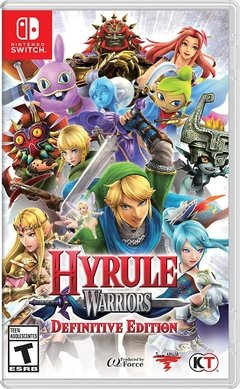 HYRULE WARRIORS DEFINITIVE EDITION NINTENDO SWITCH - comprar online