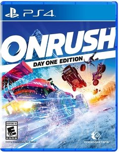 ONRUSH ON RUSH PS4