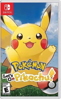 POKEMON LETS GO PIKACHU NINTENDO SWITCH