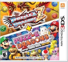 PUZZLE AND DRAGONS Z + PUZZLE AND DRAGONS SUPER MARIO BROS. EDITION 3DS
