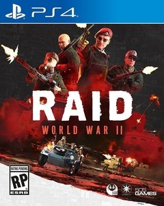 RAID WORLD WAR 2 II PS4
