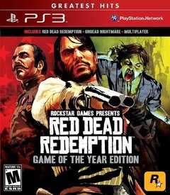 RED DEAD REDEMPTION GAME OF THE YEAR GOTY PS3