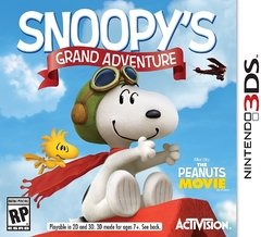 SNOOPY'S GRAND ADVENTURE 3DS