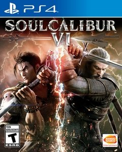 SOULCALIBUR 6 VI SOUL CALIBUR PS4