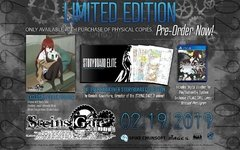 STEIN;GATE ELITE LIMITED EDITION PS4