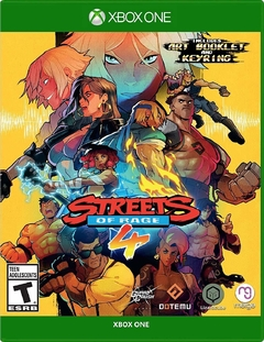 STREETS OF RAGE 4 XBOX ONE