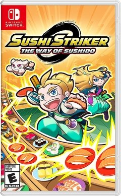 SUSHI STRIKER THE WAY OF THE SUSHIDO NINTENDO SWITCH