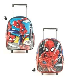 Mochila Escolar Carro 12¨ Ideal Jardin Spiderman 2019