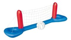 Espectacular Voley Inflable Con Red Y Pelota Bestway