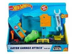 Pista City Ataque De Cocodrilo En Garage Hot Wheels - comprar online
