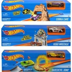 Set De Juego Pista C/auto Hot Wheels