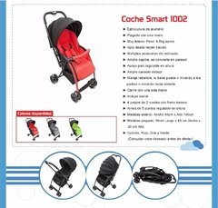 Coche Bebe Smart Love 1002 Muy Liviano Rebatible en internet