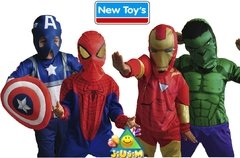 Disfraz Super Heroes Originales Avengers- Spiderman
