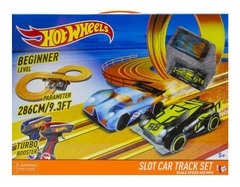 Pista De Carreras Tipo Scalextric 286cm Hot Wheels