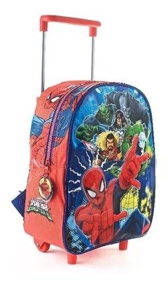 Mochila Escolar Carro 12¨ Ideal Jardin Spiderman 2019 en internet
