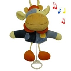 Muñeco Peluche Musical De Tira Love 4040 Animal