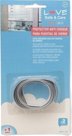 Anti Choque Vidrio Love 8865 Seguridad Bebe X2
