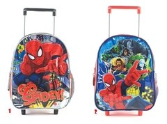 Mochila Escolar Carro 12¨ Ideal Jardin Spiderman 2019 - comprar online