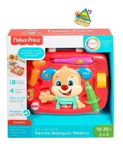 Perrito Botiquín Ríe Y Aprende | Fisher Price